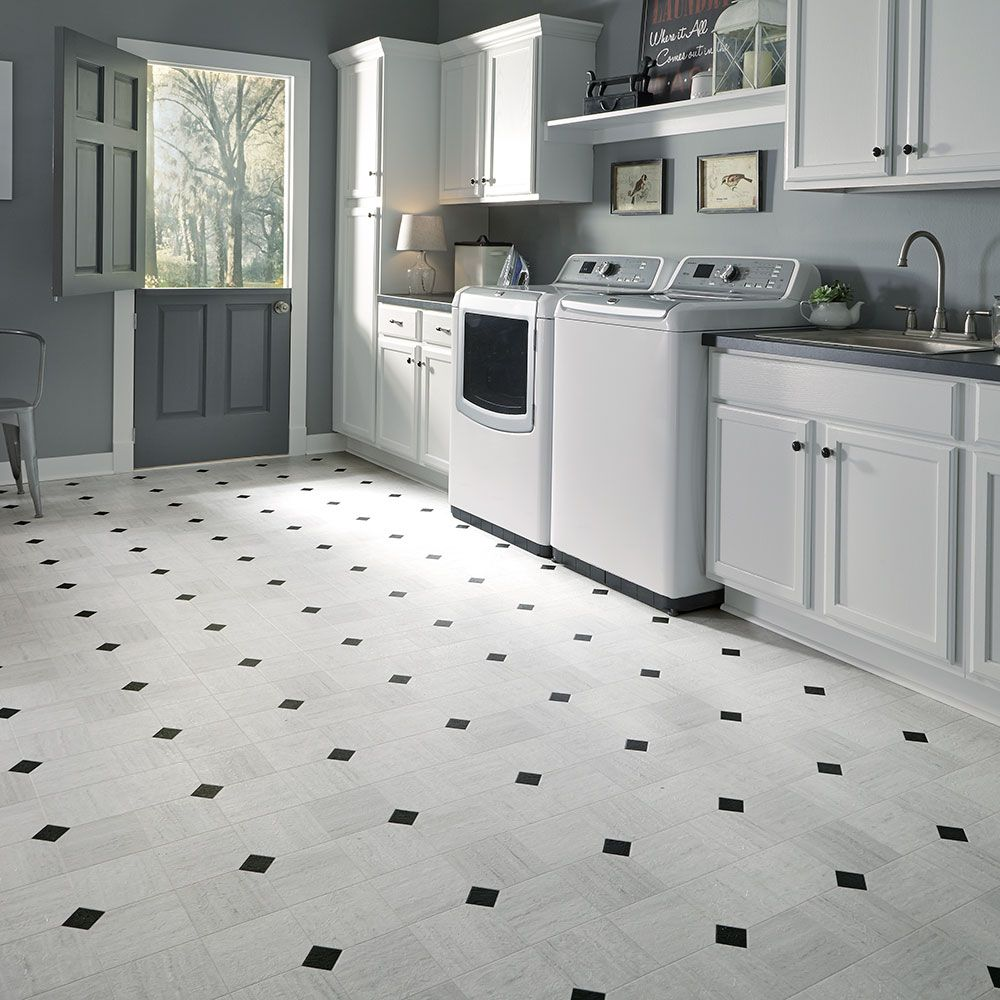 Empire resilient an art deco inspired marble look in a modernist art deco layout design inspiration resilient vinyl floor for kitchen bathroom foyer dining laundry room space dailygadgetfo Image collections