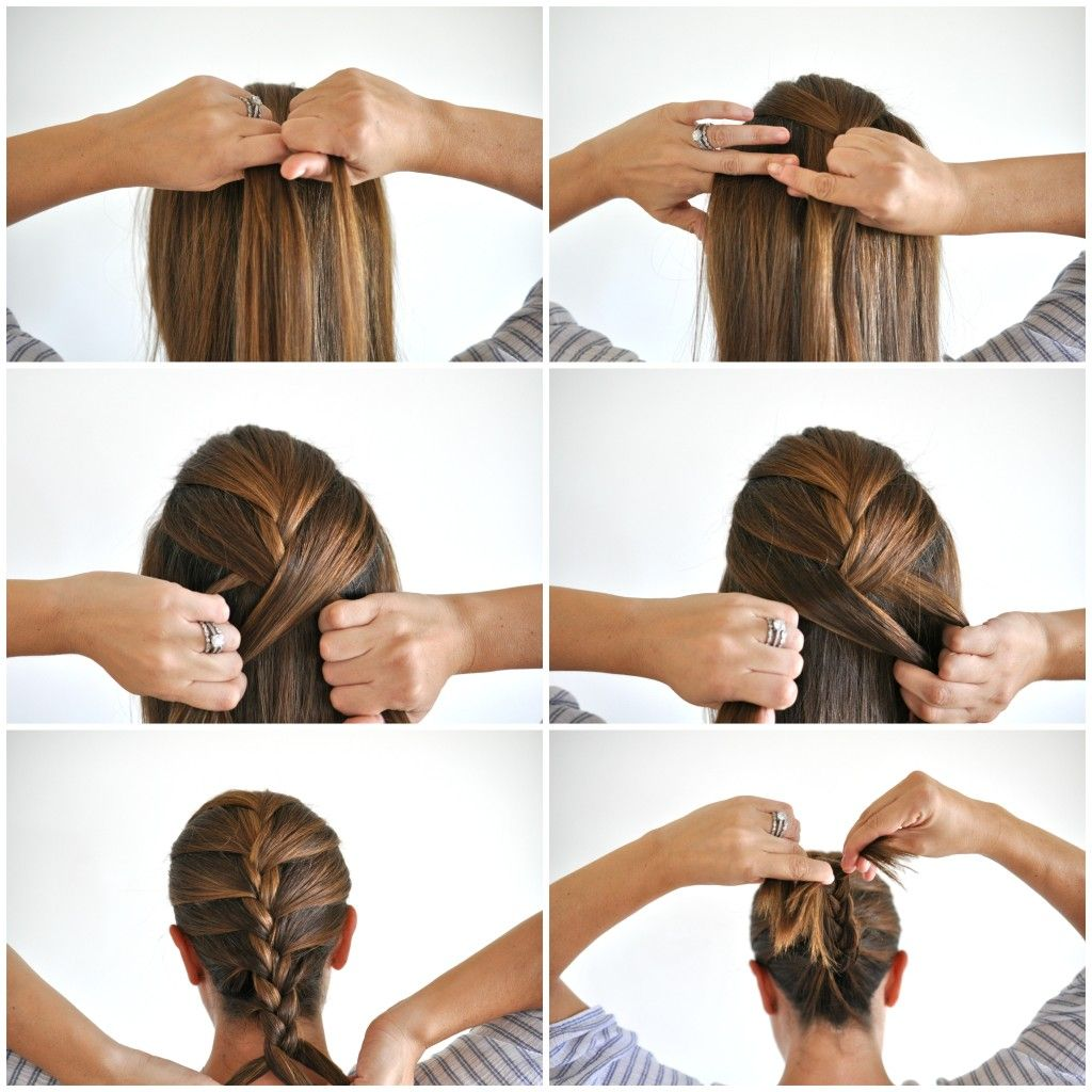 17 Best Images About Fast Hair Favourites On Pinterest Hair Hair Howto:  Super Cute 4strand