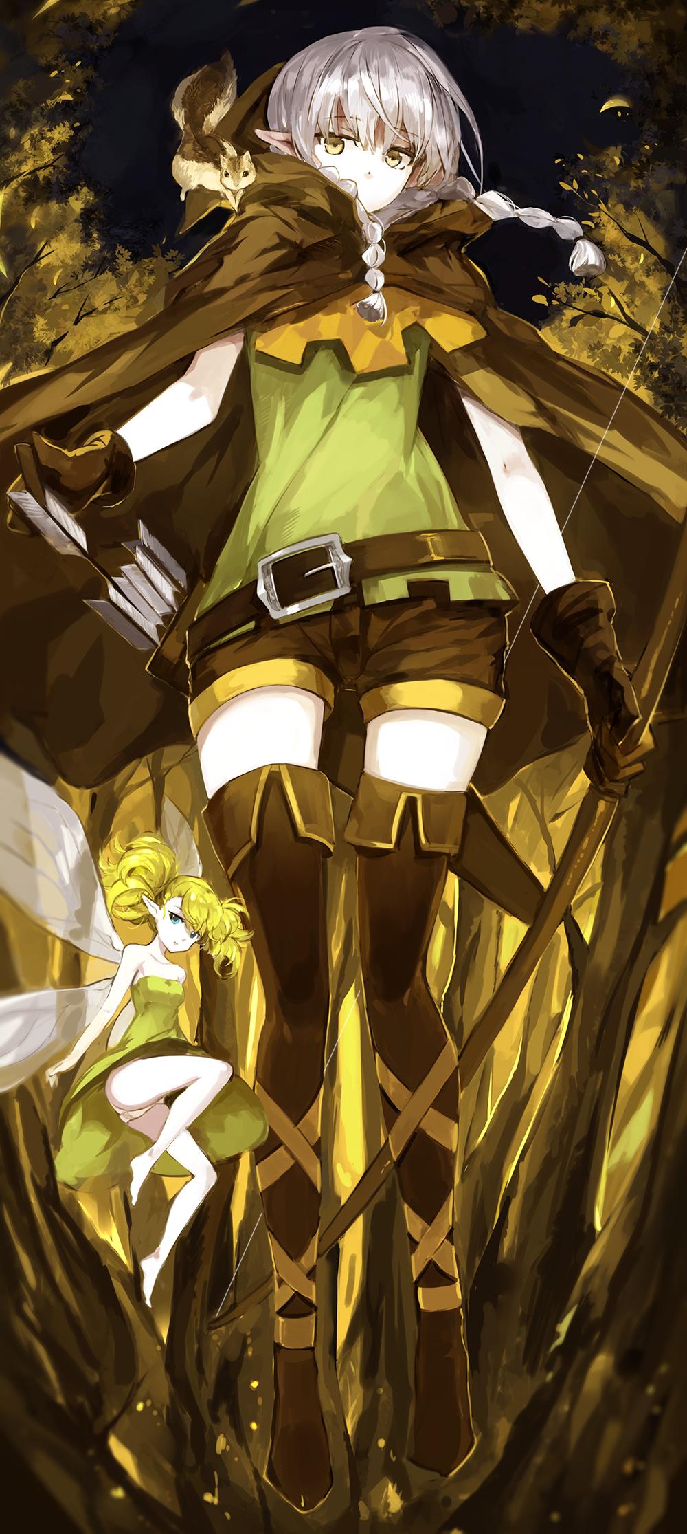 Dragon's Crown - Elf and Tiki