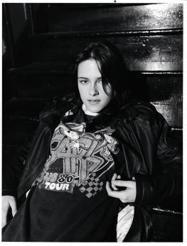 """Kristen Stewart in a photo shoot for """"Interview"""" magazine 2006......"""