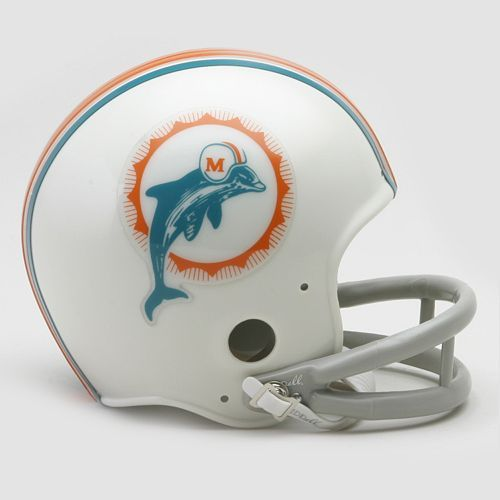 Riddell Miami Dolphins (1972) Throwback Mini Helmet $25.99