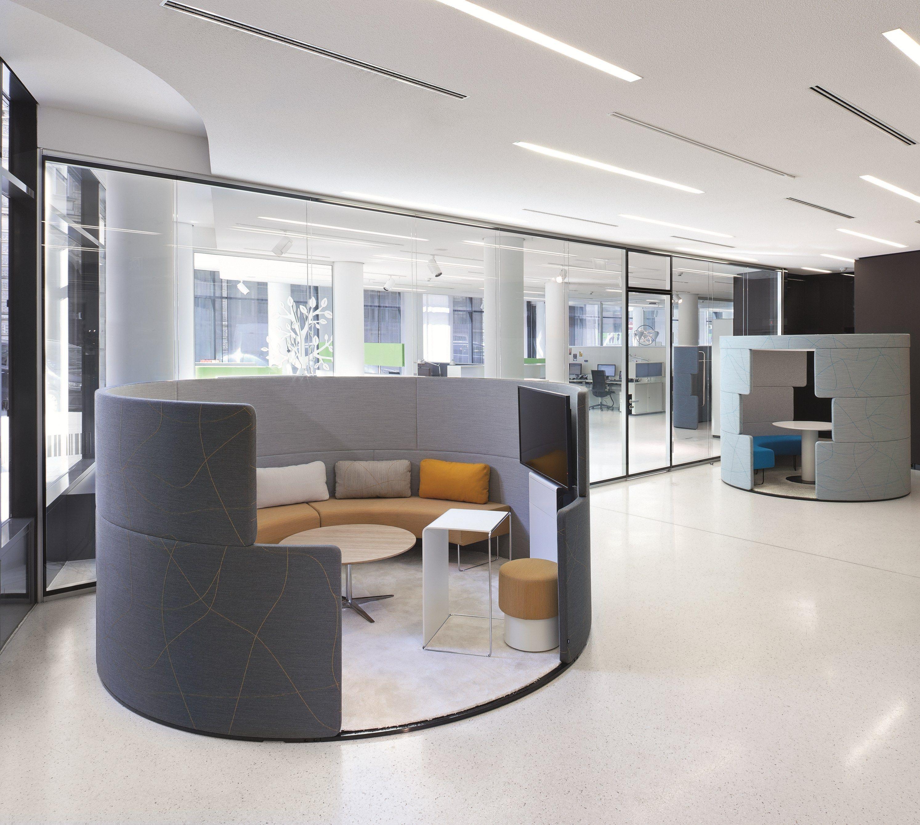 Bene Office Furniture: Meeting Pod PARCS Toguna Circle By BENE Design