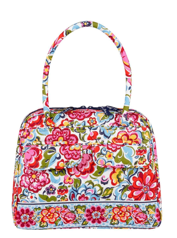 Vera Bradley Bowler Bag Purse Hope Garden