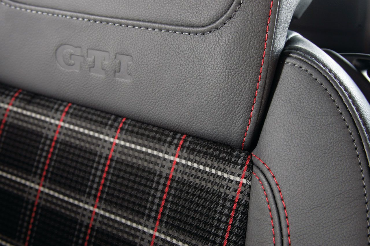Interior Interlagos Plaid Fabric Vw Gti Dress