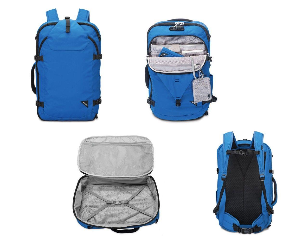 cbb16ec11270 Pacsafe Venturesafe 45 multi-view | Travel | Best travel backpack ...