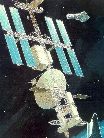 Spaceexp Space Station Space Art Cosmos Space