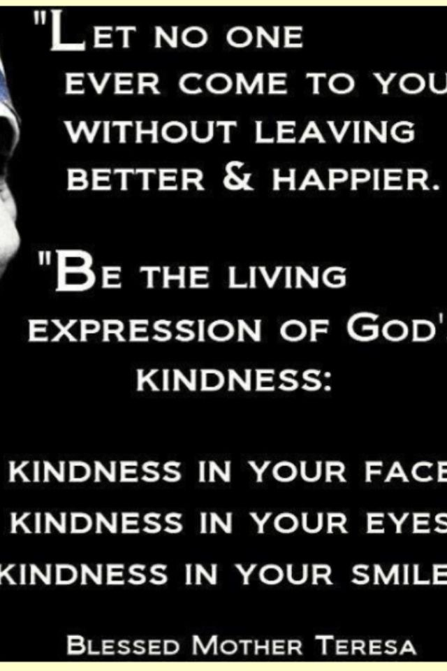 Mother Teresa Christian Kindness Pinterest Spiritual Wisdom