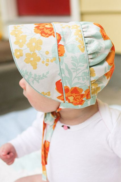 peekaboo bonnet | Baby bonnets, Babies and Sewing projects