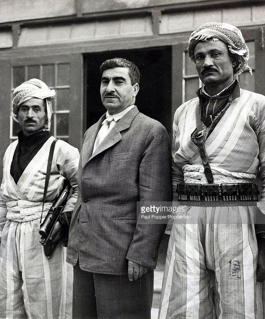 Pin By Yasa Hasanpour On History Of Kurdestan: Circa 1960, Mullah Mustapha Barazani, The Leader Of The
