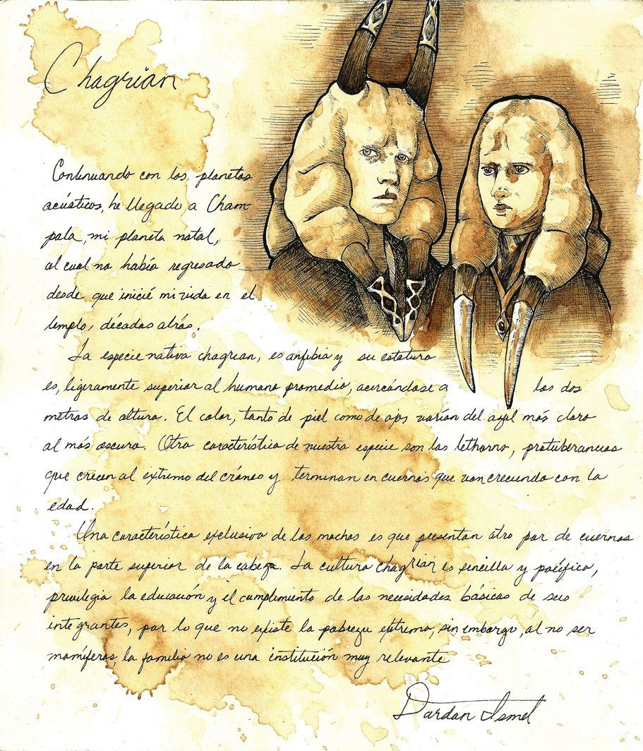 Chagrian Study by lasuricata