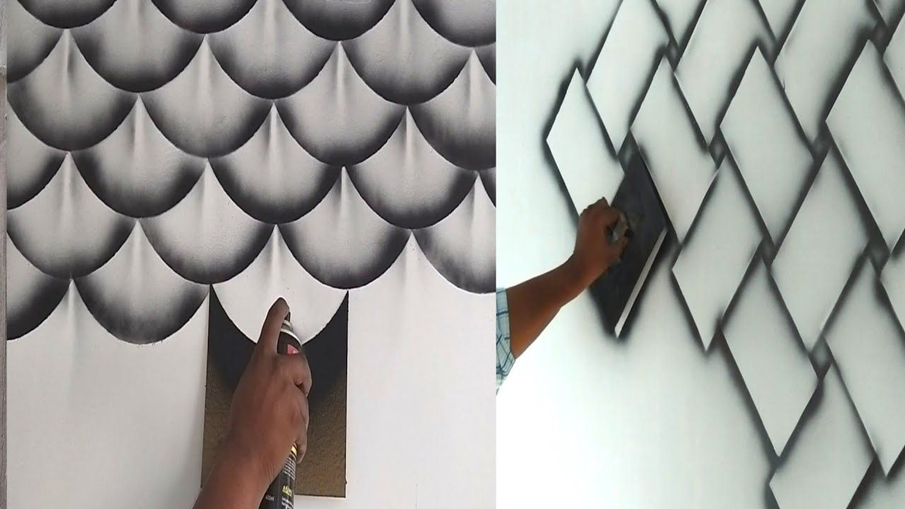 8 Wall Painting 3d Design Ideas And Your Stress Removing Youtube