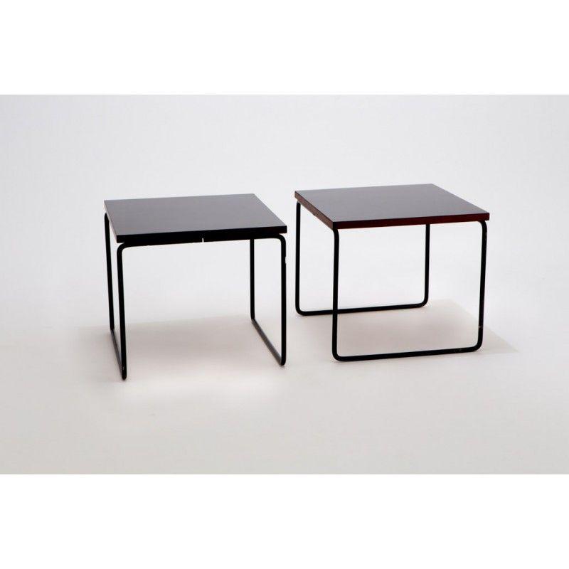 Paire de tables d\u0027appoint, Pierre GUARICHE - années 50 Modern