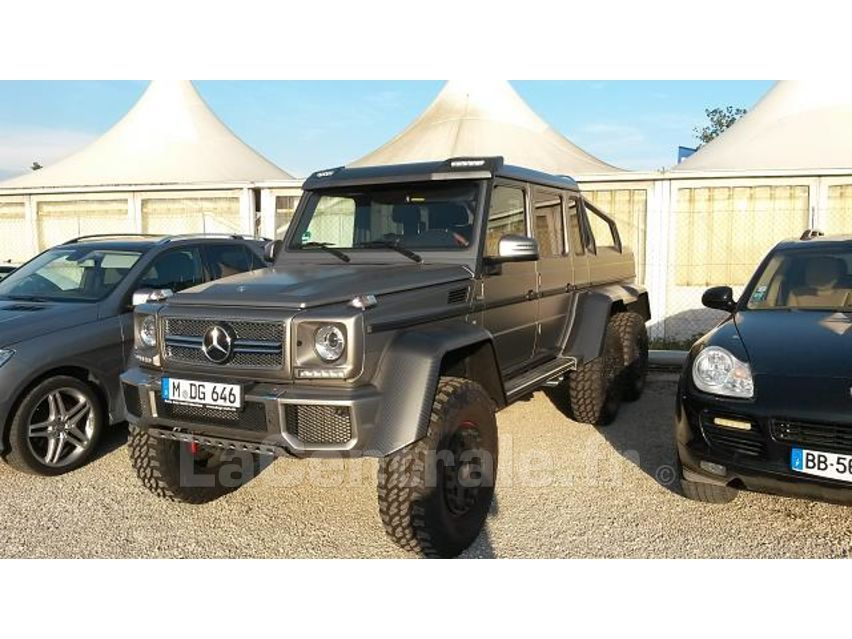 mercedes classe g 63 amg 6x6 pick up 2014 essence occasion cannes la bocca alpes maritimes. Black Bedroom Furniture Sets. Home Design Ideas