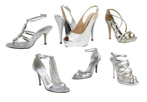 Rosa Combinar Plateado Zapatos Vestido Plateado Hx4wPH