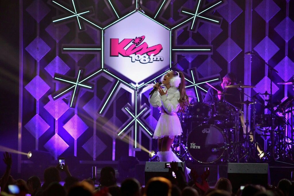 ARIANA GRANDE PERFORMS AT  KISS 108'S JINGLE BALL IN BOSTON, MA (PERFORMANCE) #KIMILOVEE  #THEWIFE  PLEASE DON'T CHANGE MY CAPTIONS OR YOU'LL BE BLOCKED!