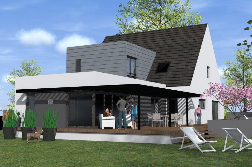 Ce projet consiste en la rénovation et l\u0027extension d\u0027une maison