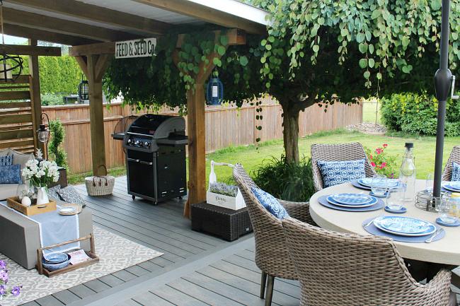 Outdoor Living Summer Patio Decorating Ideas Clean And Scentsible Outdoor Patio Decor Patio Seating Area Summer Patio Decor