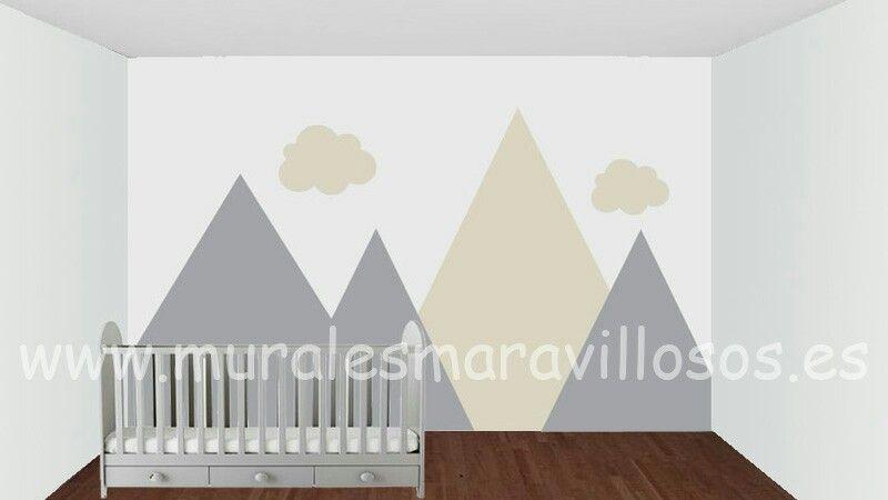 Diseños para paredes infantiles tales lisas o en gotelé www
