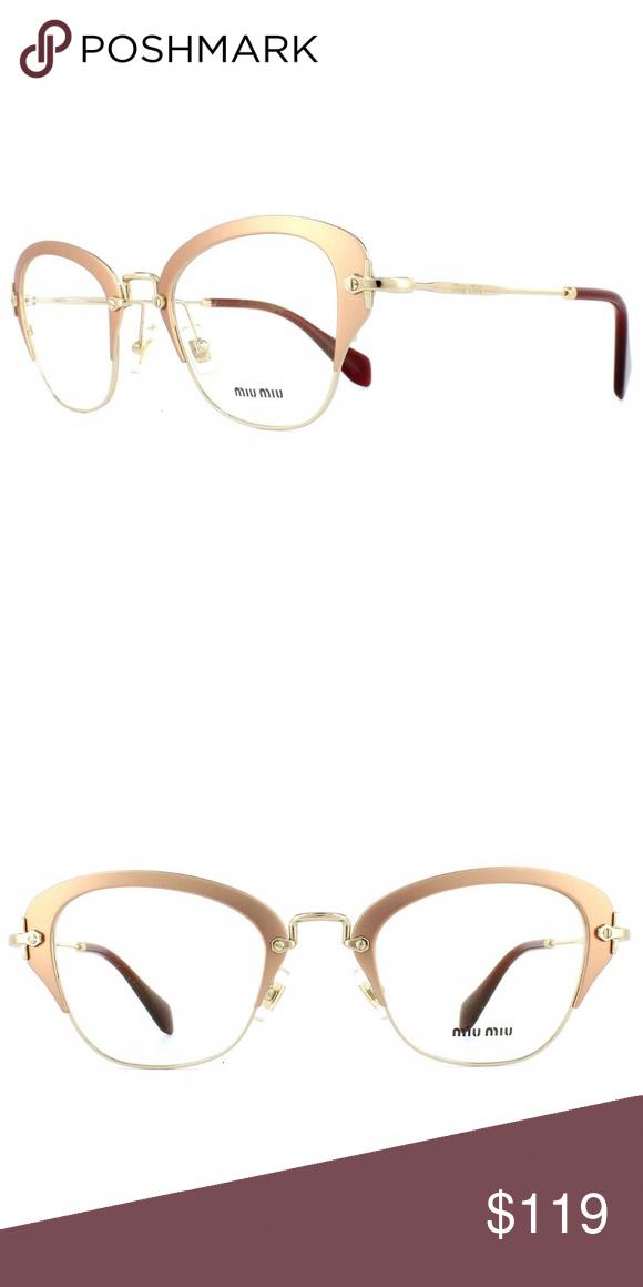 e0e825f7ed91 Spotted while shopping on Poshmark  Miu Miu Rx Eyeglasses Cat eye Gold  Color Optical!  poshmark  fashion  shopping  style  Miu Miu  Accessories   MiuMiu