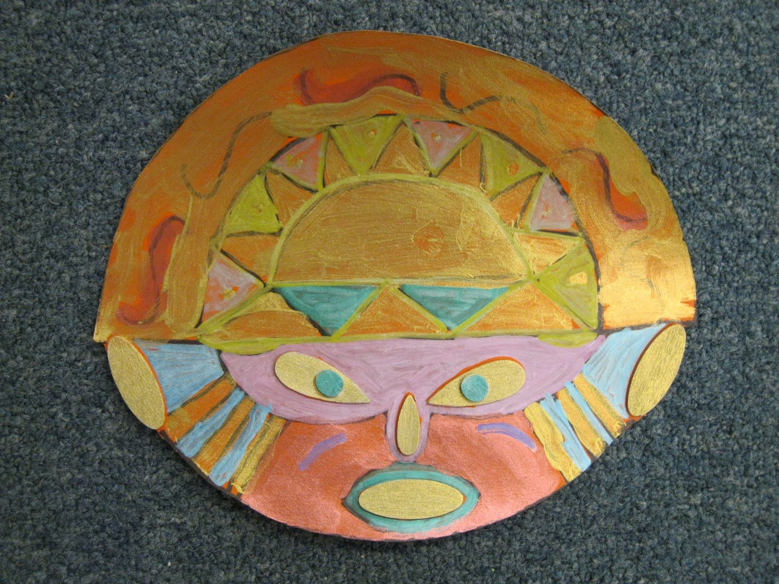 Inca Sun God Mask Art Pinterest Native American Projects And Choice