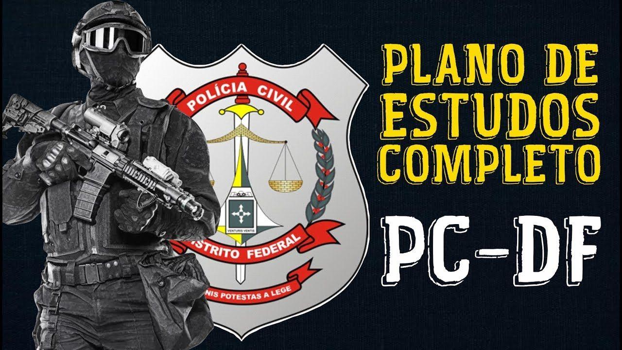 Organize Seus Estudos E Seja Agente Da Pcdf Plano De Estudos