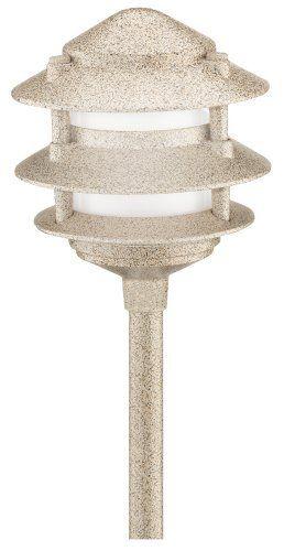 Malibu 8303 9200 01 Cast Metal Tier Light Sand By 17 99