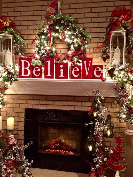 Joyeux noël fêtes de noël idées pour la maison deco noel arbres de noël mon coeur ornement couronnes noël rustique