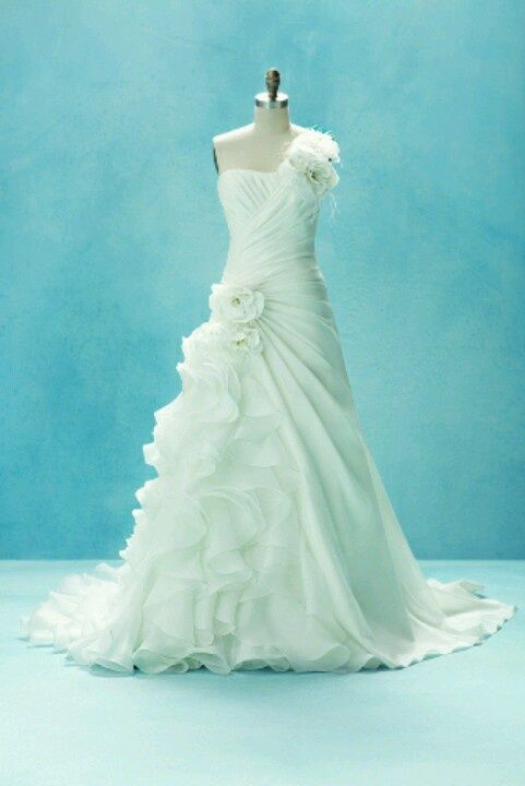 Little Mermaid Wedding Dress