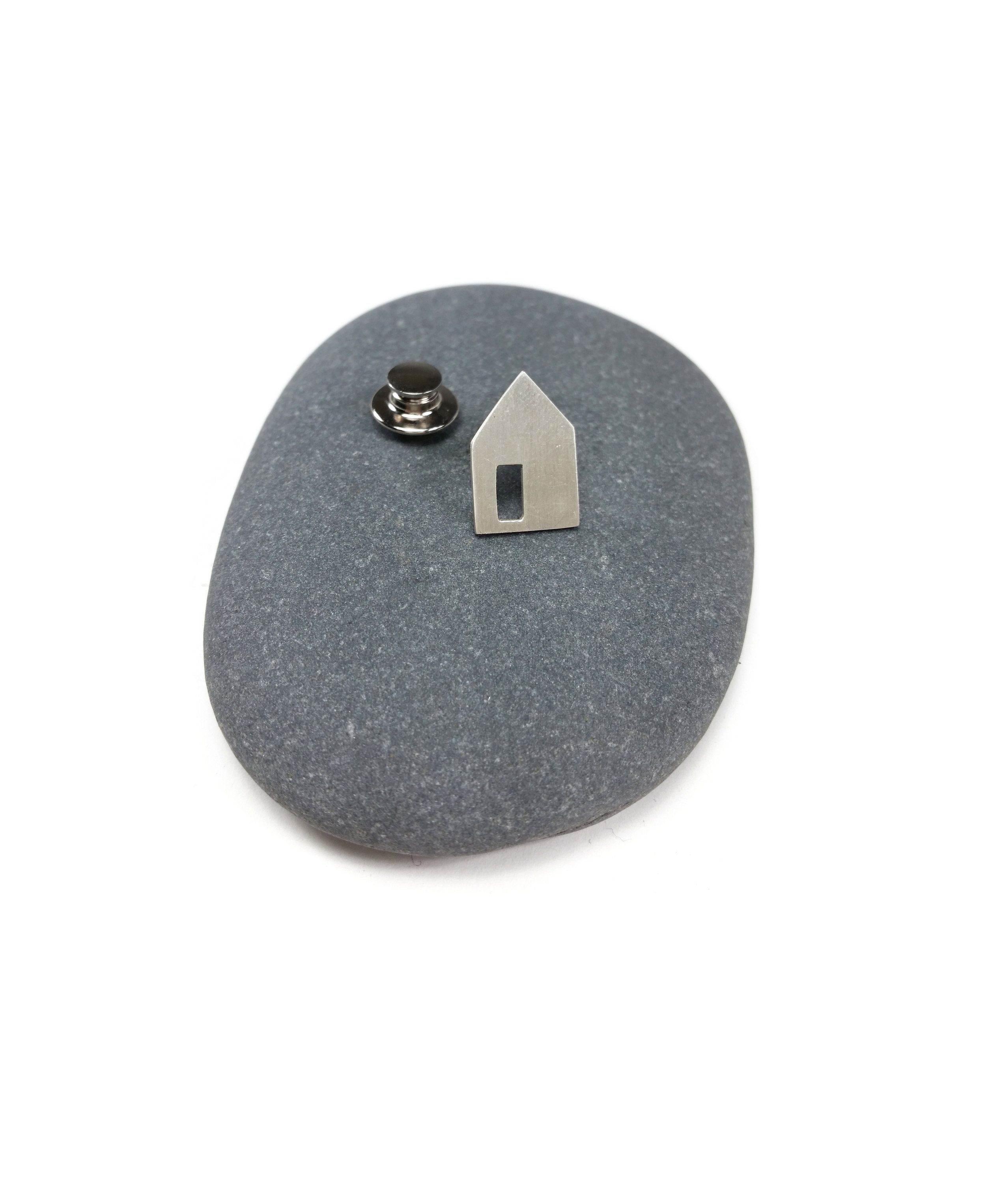 Introducing the OPEN DOOR pin: designed to represent the basic notion of home and shelter. The open ...