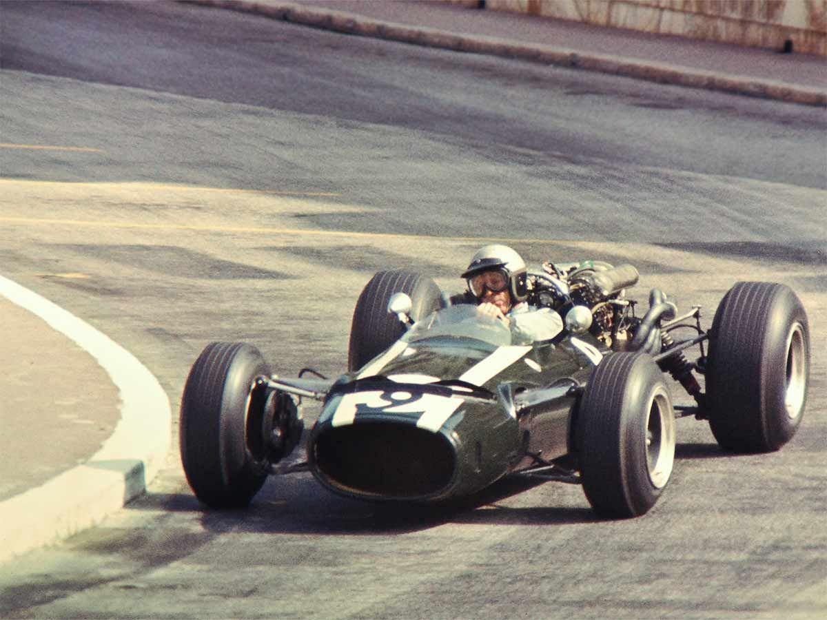 Richie ginther cooper maserati t81 155 1966 monaco grand prix