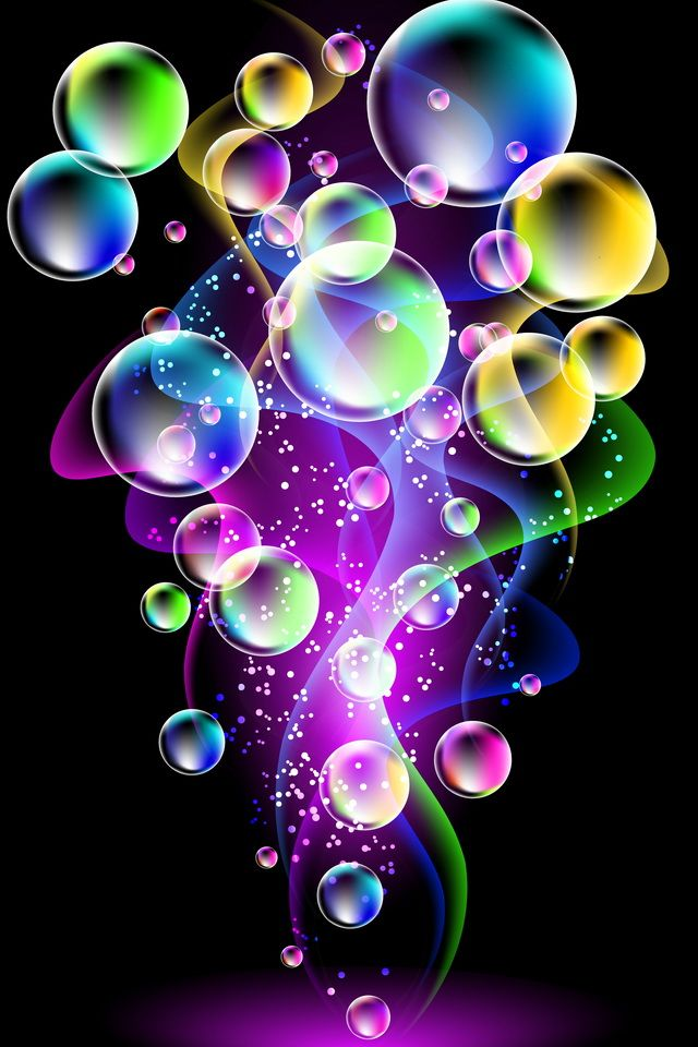 Bubbles (With images) Bubbles wallpaper, Colorful