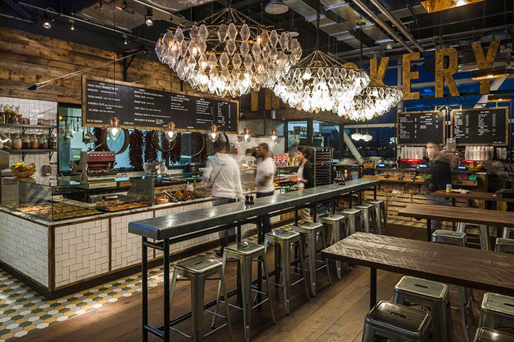 Blacksheep jamies gatwick 5 award winning restaurants for Jamie oliver style kitchen design