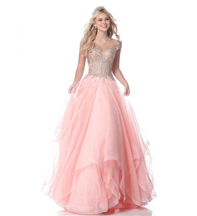 Abendkleider in lang mit echtem Cinderella Feeling gibt\'s bei uns ...