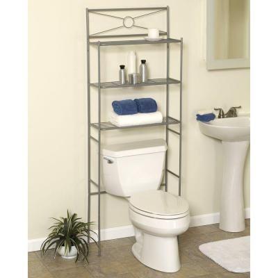 Zenna Home 23 3 5 In W X 64 3 5 In H X 12 1 2 In Metal 3 Shelf