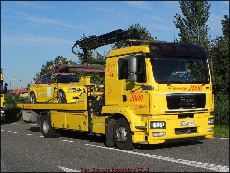 man depannage 2000 depanneuse camion truck und transporteur. Black Bedroom Furniture Sets. Home Design Ideas