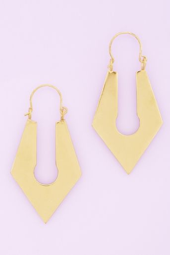 Sharp Lock Earrings
