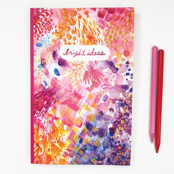 Bright Ideas Blank Journal Dot Grid Notebook Bullet Journal