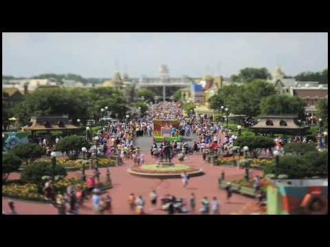 A Model Day at Magic Kingdom