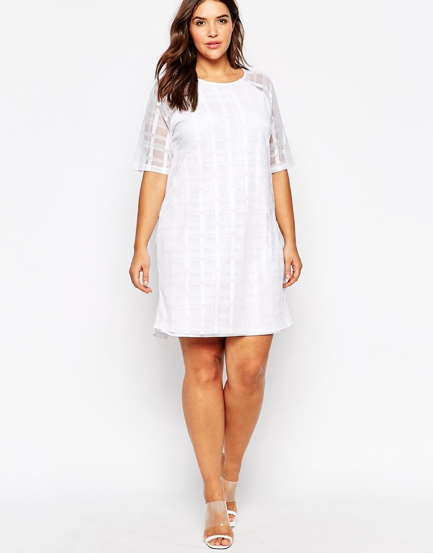 1000  images about The Plus Size LWD: Little White Dress on ...