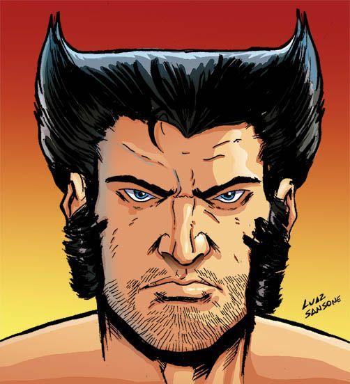 Wolverine Face Wolverine Comic Comic Face Wolverine