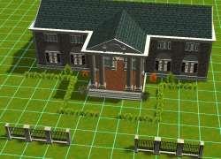 Rct3 Custom Scenery Graceland By Buckwilde Graceland House Styles Planet Coaster