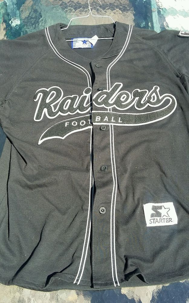 oakland raiders baseball jersey