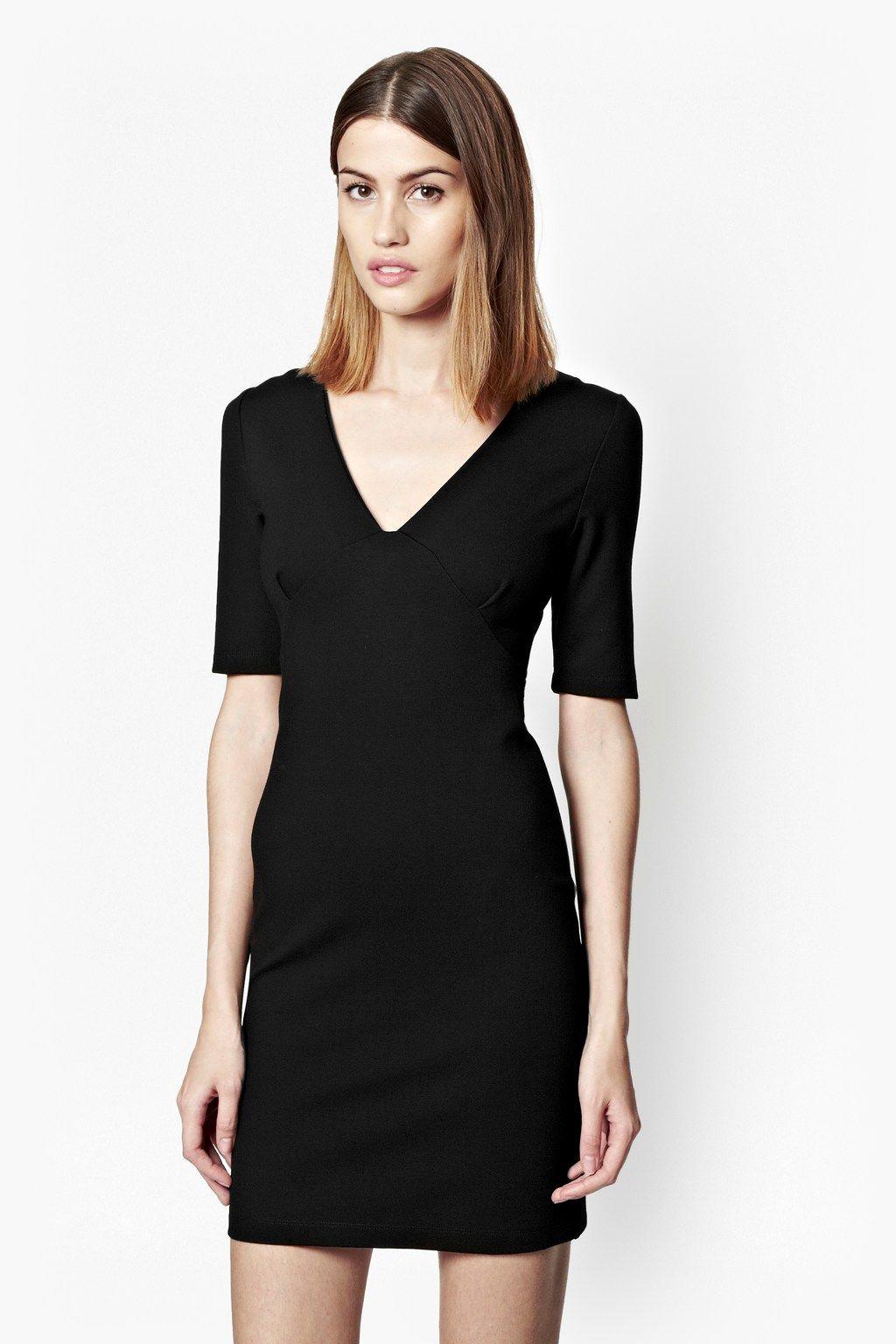 1ffe9f08c19 Lula Stretch V-Neck Dress - Workwear - French Connection ...