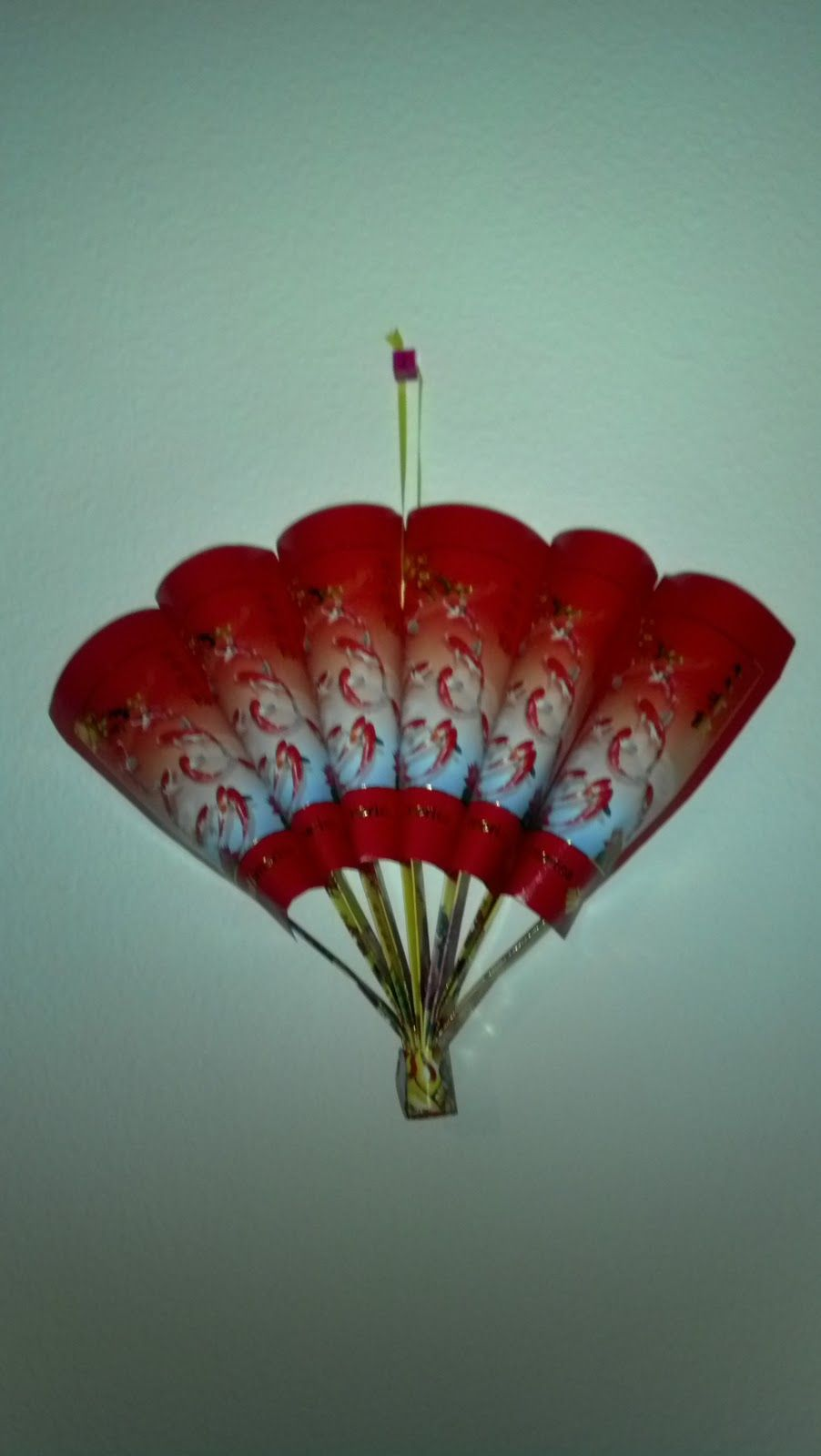 Chinese New Year Fan Craft from red envelopes- Kangaroo ...