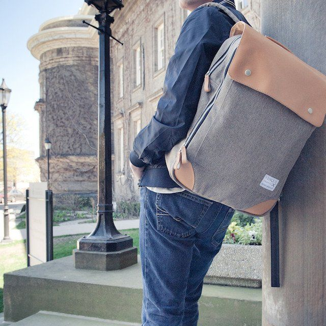 1d3b3628d8bc Flatsquare Backpack by Venque