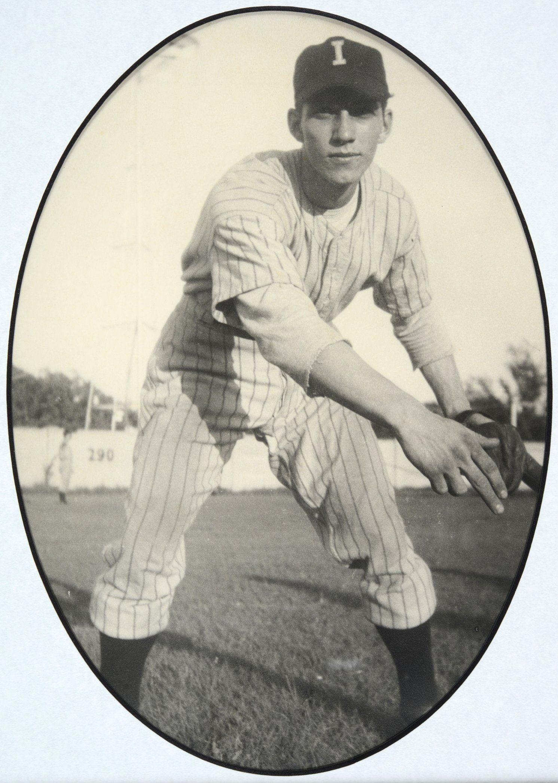 Topekan Harland Coffman Of The Independence Kansas Baseball Team 1948 Coffman Began His Minor League Caree Baseball Team Baseball Basketball T Shirt Designs