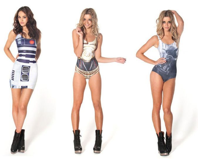 Star Wars Women Summer Clothing http://coolpile.com/gadgets ...