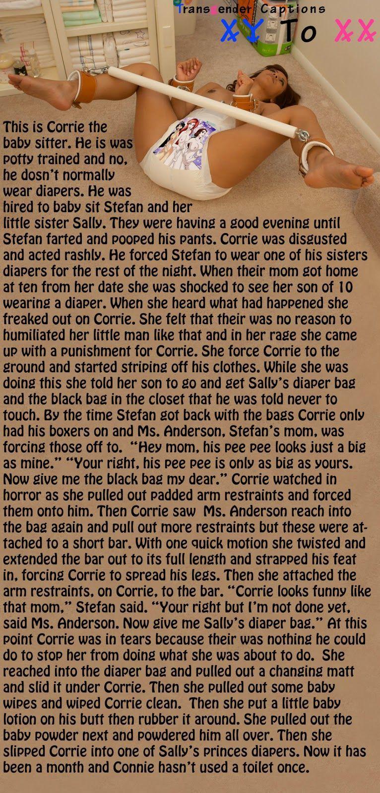 Stories forced baby bondage Rape, a