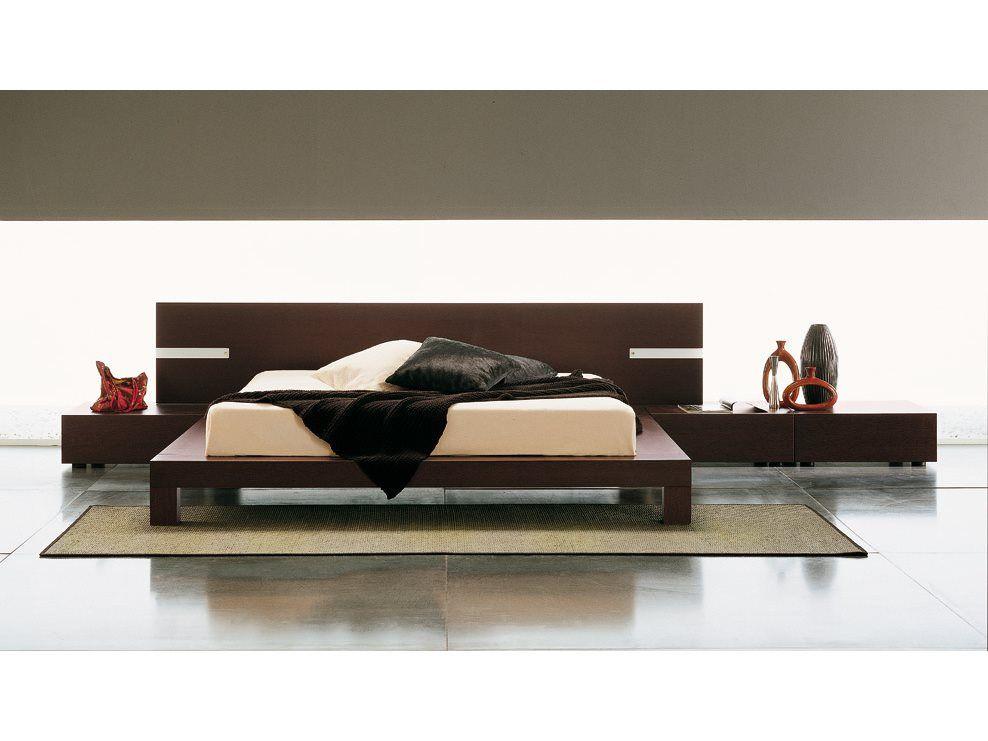 Rossetto Win Wenge Bedroom Set with Lights | Bedroom | Bed ...