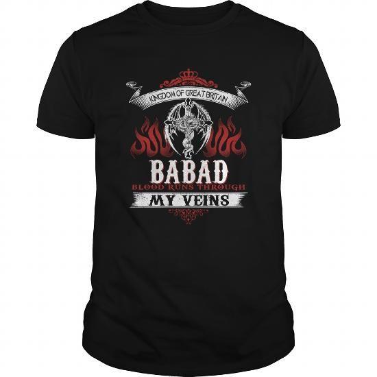Awesome Tee  BABAD Blood Runs Through My Veins (Dragon) - BABAD  Tshirts, Hoodie Shirts & Tees #tee #tshirt #named tshirt #hobbie tshirts #babad